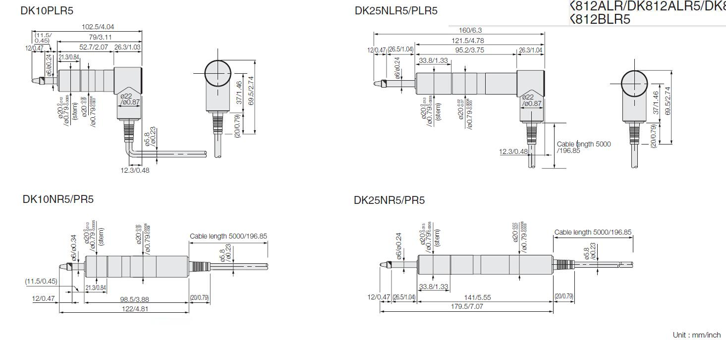 测量探规DK10/25系列