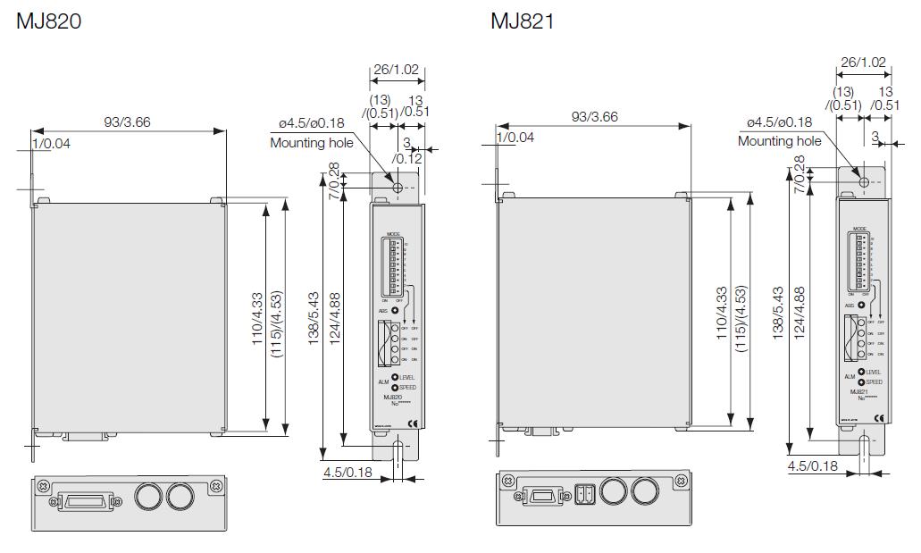 MJ820磁尺信号接收器/MJ821