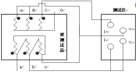 触摸屏感性负载直流电阻测试仪