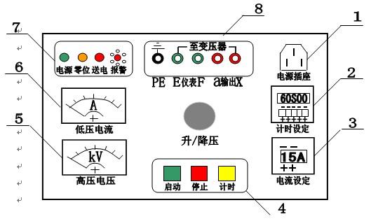 50kv/100kv干式试验变压器