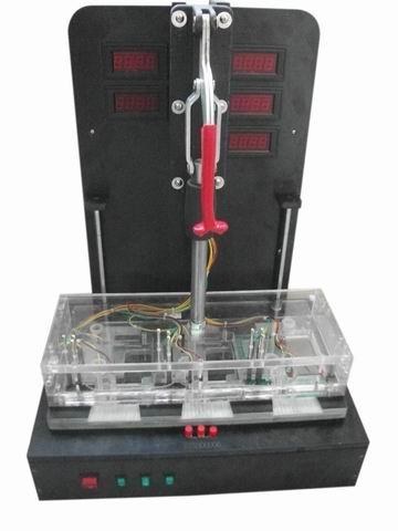 洗衣机电路板功能测试夹锁治具