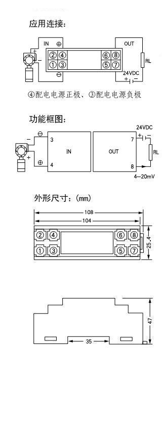 WS2025 输出环路供电隔离配电器
