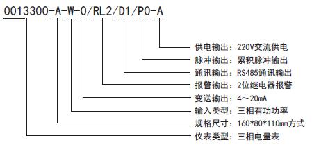 DST-13300系列三相综合电量表