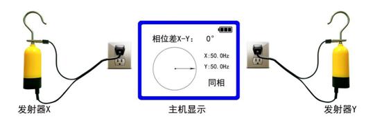GPS卫星授时无线高压核相仪