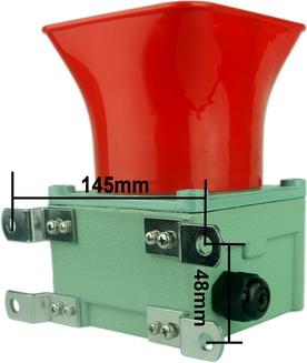 CSEW40P底座平装式安装语音报警器