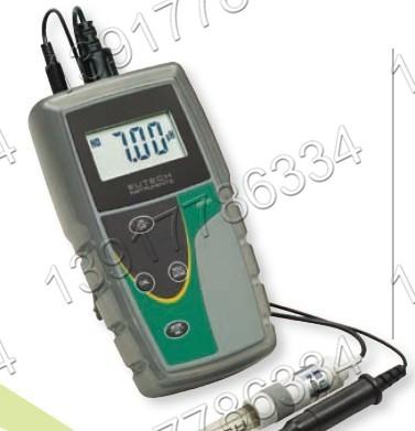 pH5+美国优特Eutech便携式手持单排pH测试仪