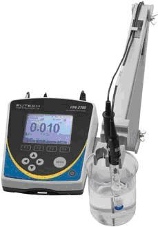 Eutech优特Ion2700台式豪华型pH/ORP/离子测量仪器