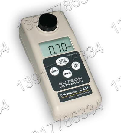 Eutech C401便携式防水型Cl/pH/Cy比色计
