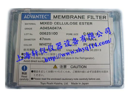 A045A047A SDI滤膜(0.45um*47mm)