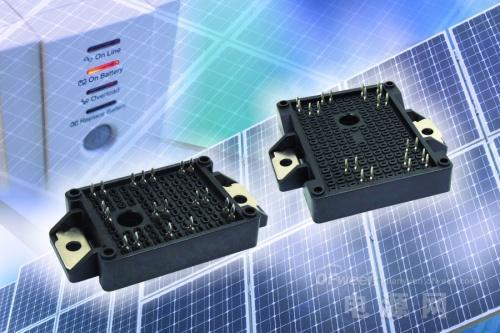Vishay新款IGBT模块为太阳能逆变器和UPS提供完整集成方案