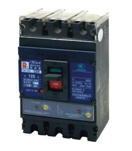 常熟塑壳断路器CM2-125M/3300