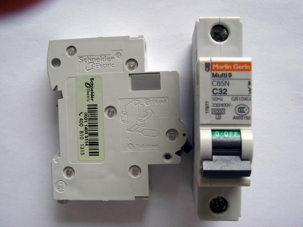 施耐德断路器C65N 1P C25A
