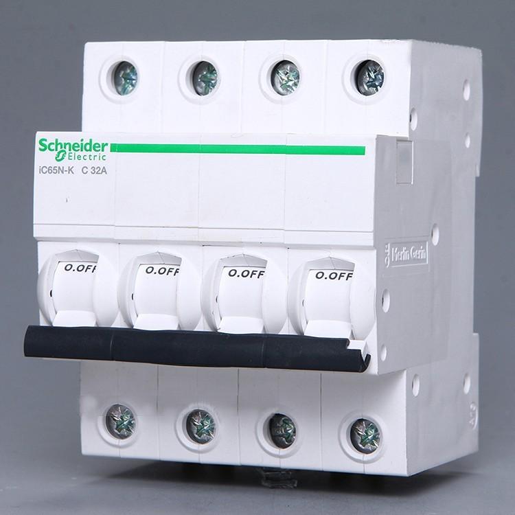 施耐德断路器IC65N 1P C40A
