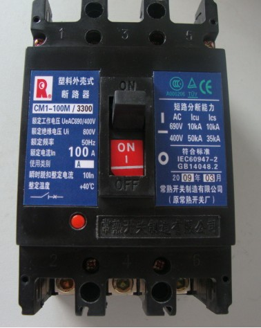 断路器 CM1-160/4340