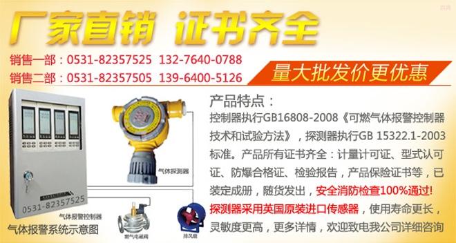 RBK-6000固定式氣體檢測儀