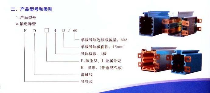 HFP工程塑料外壳多级滑触线