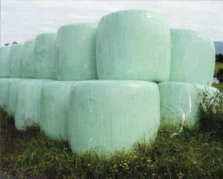 Best prices plastic stretch agricultural film cover 25 micron 750/500/250mm biodegradable silage bale wrap film roll
